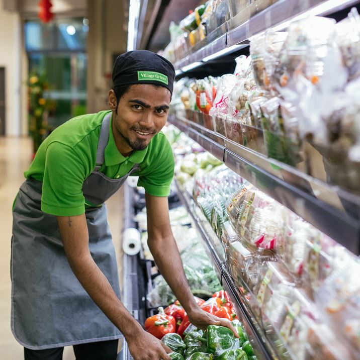 Village Grocer Happy Staff | Grocery Store Malaysia