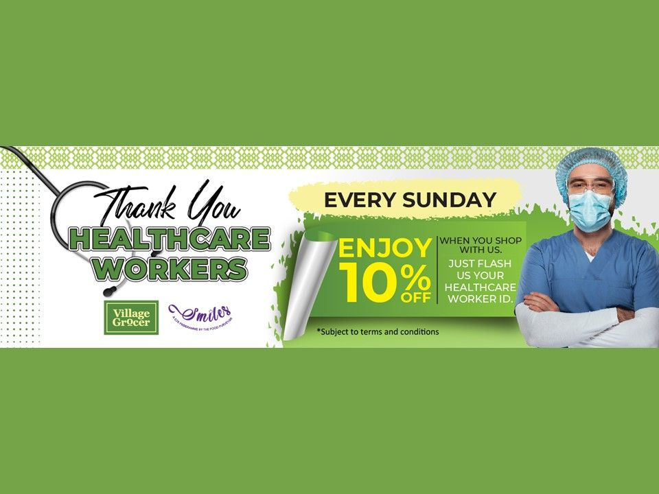 Healthcare Workers Discount