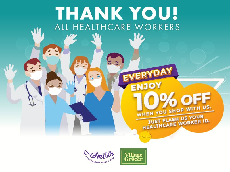 Healthcare Workers Discount