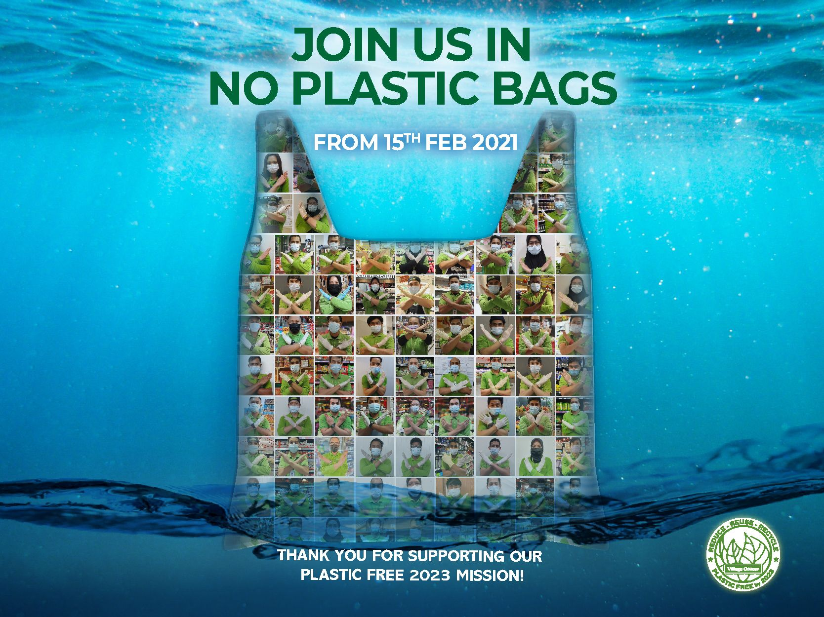 Say No to Single-Use Plastic Bags