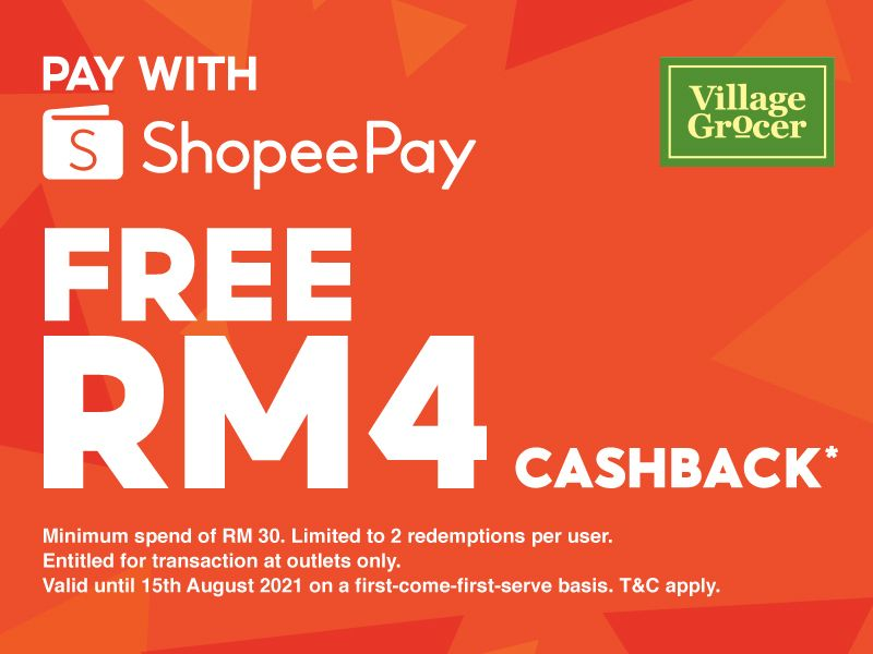 Cashback with ShopeePay